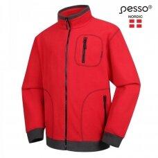 Megztinis Pesso FMR Fleece, raudonas