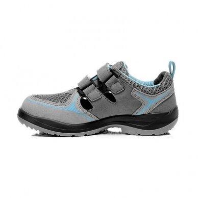Moteriški sandalai ELTEN Mila Easy ESD S1 SRC, pilki 4
