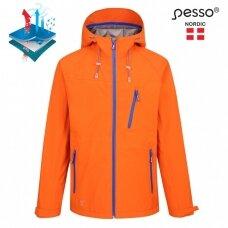Neperšlampanti striukė Pesso BONNA, oranžinė