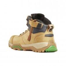 Odiniai batai su auliuku BWB2G, rudi