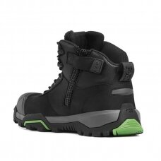 Odiniai batai su auliuku BWB2J WB2 SB, juodi
