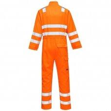 Oranžinės spalvos kombinezonas PORTWEST MV91