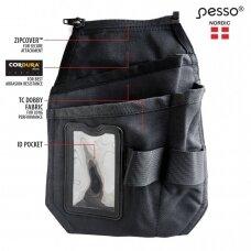 Pakabinama Pesso Pocket2R dešinė kišenė su ID kortelės laikikliu