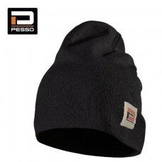Pašiltinta kepurė Kansas ( juoda)