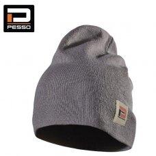 Pašiltinta kepurė Kansas (pilka)