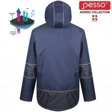 Pašiltinta striukė Pesso ARVIKA, mėlyna
