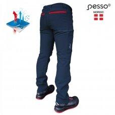 Pašiltintos Pesso Nebraska softshell kelnės, mėlynos