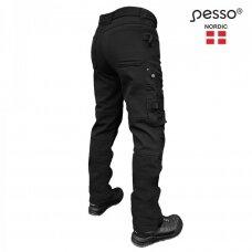 Pašiltintos softshell Pesso kelnės Mercury( juodos)