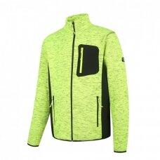 Pesso fleece džemperis FLORENCE, geltonas