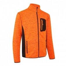 Pesso fleece džemperis FLORENCE, oranžinis