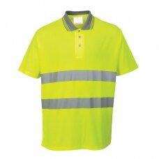 Polo marškinėliai PORTWEST S171, geltoni