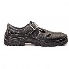 Sandalai 0293K S1P užsegami su metaline sagtele