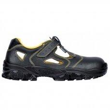 Sandalai Newdon S1P su metaline nosele