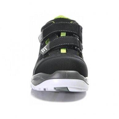 Sandalai ELTEN Impulse Green Easy ESD S1P, juodi 4
