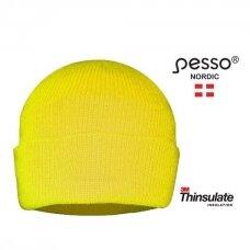 Šilta kepurė Pesso KPTG Thinsulate, su pamušalu, HI-VIS geltona