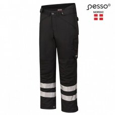 Šiltos kelnės Pesso SKIPPER, juodos