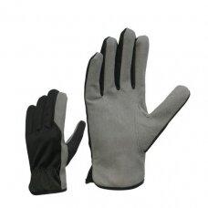 Sintetinės odos 0P-350 šiltos darbo pirštinės