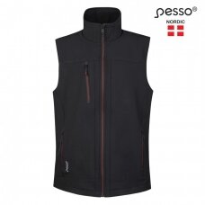 Liemenė Pesso Soft Softshell, juoda