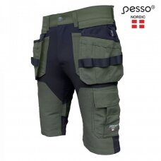 Šortai Pesso Titan Flexpro KB125Z ,žali