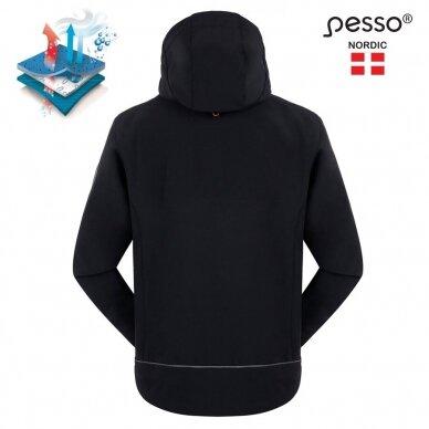 Softshell striukė Pesso Acropolis, juoda 2