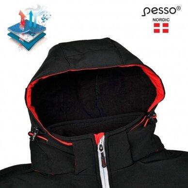 Softshell striukė Pesso Acropolis, juoda 4