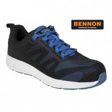 Sportinio stiliaus darbo pusbačiai BENNON TORPEDO S1P SRC, mėlyni