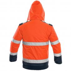 Striukė darbui LUTON, oranžinė (nusegamomis rankovėmis)