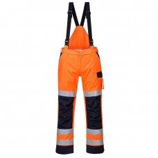 Puskombinezonis PORTWEST MV71 apsaugantis nuo lietaus ir elektros iškrovos, oranžinis