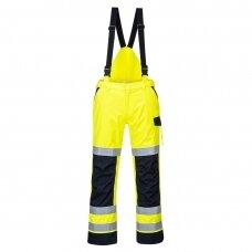 Puskombinezonis PORTWEST MV71 apsaugo nuo lietaus ir elektros iškrovos, geltonas