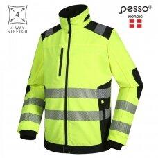 Švarkas Pesso Titan 125 DS125G HI-VIS, geltonas