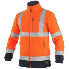 Šviesą atspindintis džemperis darbui PRESTON, oranžinis