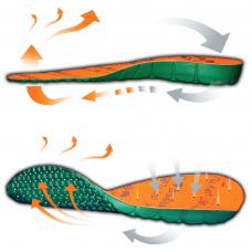 BASE gamintojo Dry'n Air anatomiškai išformuoti vidpadžiai