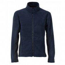 Vyriškas FL03 flisnis džemperis, mėlynas